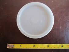 Vintage Tupperware replacement lid 296 press and seal top lid clear F parfait