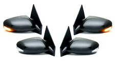 Black Sportage Style Side Mirror PAIR w/LED Signal FOR 1985-2005 GMC Safari