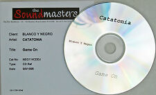 CATATONIA CD Game On Sound Masters Studio PROMO ONLY 1 Track Rare Cerys Matthews
