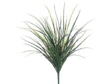 "TWO 36"" Long Grass Bush Artificial Silk Plants Decor Indoor Outdoor 041RD"