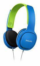 Philips SHK2000BL/00 Light Headphones with Volume Control Blue New