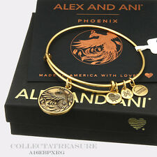 Authentic Alex and Ani Phoenix II Rafaelian Gold Bangle