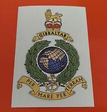 Royal Marines Pegatina De Vinilo Impreso on7-10 Año Vinilo tintas Eco Solvente