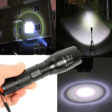 Super Light 5000LM Zoomable XML T6 LED 18650 Flashlight Focus Torch Zoom Lamp