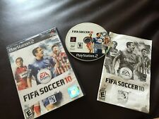 FIFA Soccer 10 (Sony PlayStation 2, 2009)COMPLETE
