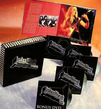 JUDAS PRIEST - METALOGY  5 Disc (4cd +1dvd) with STUDS - Ltd. Edition REMASTERED