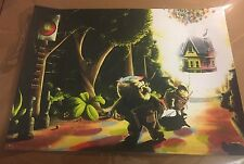Tom Miatke Up Poster Hero Complex Pixar Sold Out Disney Print Numbered 18 x 24in