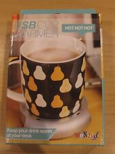 USB / Computer Cup Warmer - New in Box