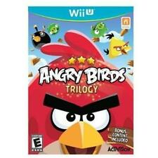 BRAND NEW STILL SEALED Angry Birds Trilogy - Nintendo Wii U Game HARD TO FIND