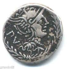 LUCILIA GENS RUFUS 101 A.C. DENARIO  REPUBBLICA ROMANA