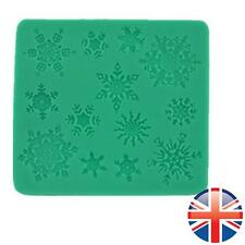 *UK Seller* Silicone Snow Flake Winter Lace Fondant Sugercraft Cup Cake Mould