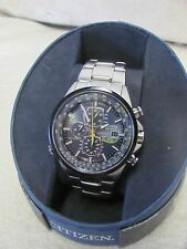 Citizen AT8020-54L Men's Eco-Drive Blue Angels Chronograph Watch PZ805