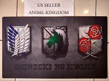 Custom Yugioh Playmat Play Mat Large Mouse Pad Anime Cool Attack of Titan #369