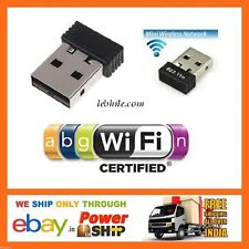 E65 RTL8188 Mini 150Mbps USB Wireless Network Card Nano WiFi LAN Adapter Dongle