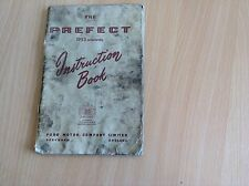 Ford Prefect 1953 Onwards Instruction Manual