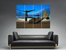 Aircraft Boeing V-22 Osprey  Helicopter  Wall Art Poster Grand format A0