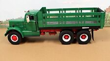 Fumby Motors 1957 White WC-22 Stake Truck 1:15 MIB Ltd Edition All Green
