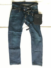 Limited edition Leather pouch Dsquared2 Jeans, sz 48