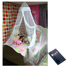 Hoop Bed Canopy White Mosquito Net Netting Tent