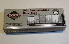 Proto 2000 HO Scale Undecorated 50' Automobile Box Car Kit
