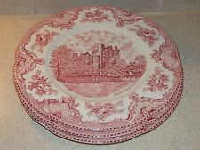 """JOHNSON BROTHERS CHINA OLD BRITAIN CASTLES 3 DINNER PLATES 10"""""""