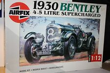 1930 Bentley Airfix - 1:12 scale model kit. -  Factory Sealed. OOP