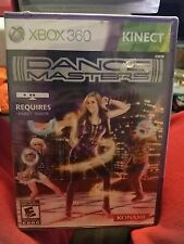 dance masters x box 360 requires kinect brand new sealed