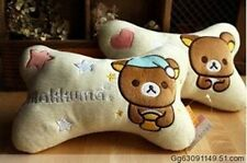 Hot! Rilakkuma San-X Car Neck Pillows Head Cushions  1pcs