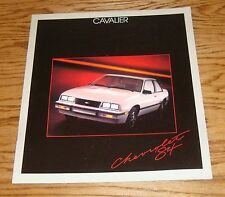 Original 1984 Chevrolet Cavalier Sales Brochure 84 Chevy