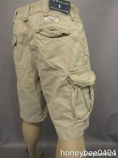 NWT POLO RALPH LAUREN GELLAR  FATIGUE MENS ALMOND CARGO SHORTS  PANTS 33