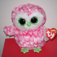 """Ty Beanie Boos ~ BUBBLY the 6"""" Owl ~Claire's Exclusive~MINT with MINT TAGS ~RARE"""