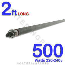 "HE2405 24"" 2 FOOT 600mm LONG 500 watt 500w 220-240v DRY WET ROD HEATING ELEMENT"