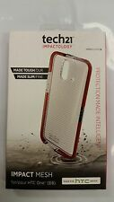 Authentic Tech21 Impactology Impact Mesh Case for HTC One E8 -Clear- Brand New