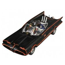 Modello 1/18 BATMOBILE Batman CLASSIC Serie TV 1966 Hot Wheels DieCast MODEL CAR