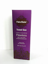 FAKE BAKE TRAVEL FLAWLESS SELF TANNING LIQUID 3oz SPRAY & PROFESSIONAL MITT KIT