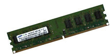 2gb ORIGINALE SAMSUNG DIMM RAM 800 MHz pc2-6400u ddr2 m378t5663eh3-cf7 pc6400