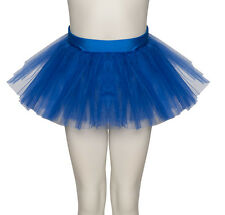 Pink,Black,Purple,Blue,Red,Orange,Green,White,Yellow Soft Tutu Skirt All Ages