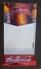 NEW BUDWEISER TABLE TENT SIGNAGE HOLDER