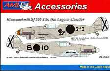 AML Models 1/72 MESSERSCHMITT Bf-109B German Legion Condor Fighter