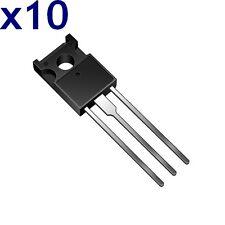BD178 Transistor PNP 60V 3A TO-126 (Lot de 10)  / Dispo sous 7 jours