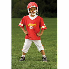 YOUTH MEDIUM Kansas City Chiefs NFL UNIFORM SET Game Day Costume Ages 7-9