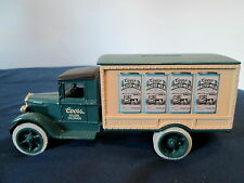 1931 COORS MALTED MILK DELIVERY TRUCK BY ERTL COMPANY - BANK DIECAST 1/34 SCALE
