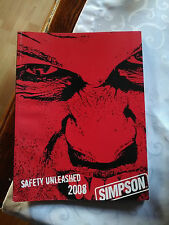 Catalogue produits SIMPSON RACING 2008