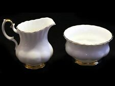 Royal Albert Val d'Or Cream and Open Sugar