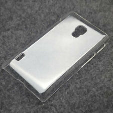 New Crystal Clear hard case DIY cover for LG Optimus L7ii P710