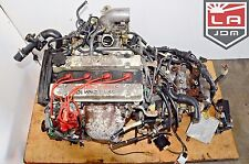 JDM 84 89 TOYOTA MR2 4AGZE 1.6L SUPERCHARGED ENGINE MANUAL TRANS WIRING ECU