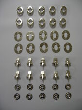CLIP ON TURNBUTTON KITS X 10 FOR BOAT COVER FITTINGS, TRAILER COVER/ CARAVAN