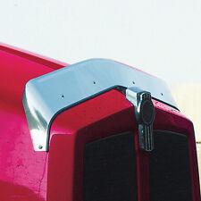 Kenworth 1996-2014 T600 - 16 Gauge Stainless Steel Hood Bug Shield Deflector