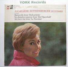 ANNELIESE ROTHENBERGER - Successes - Excellent Con LP Record HMV SXLP 30098