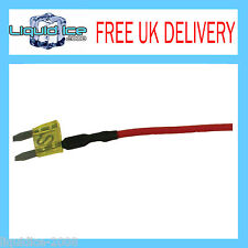 AUTOLEADS MFS20A 20 AMP MINI SPUR BLADE FUSE LEAD CABLE FOR CAR VAN BUS VEHICLE